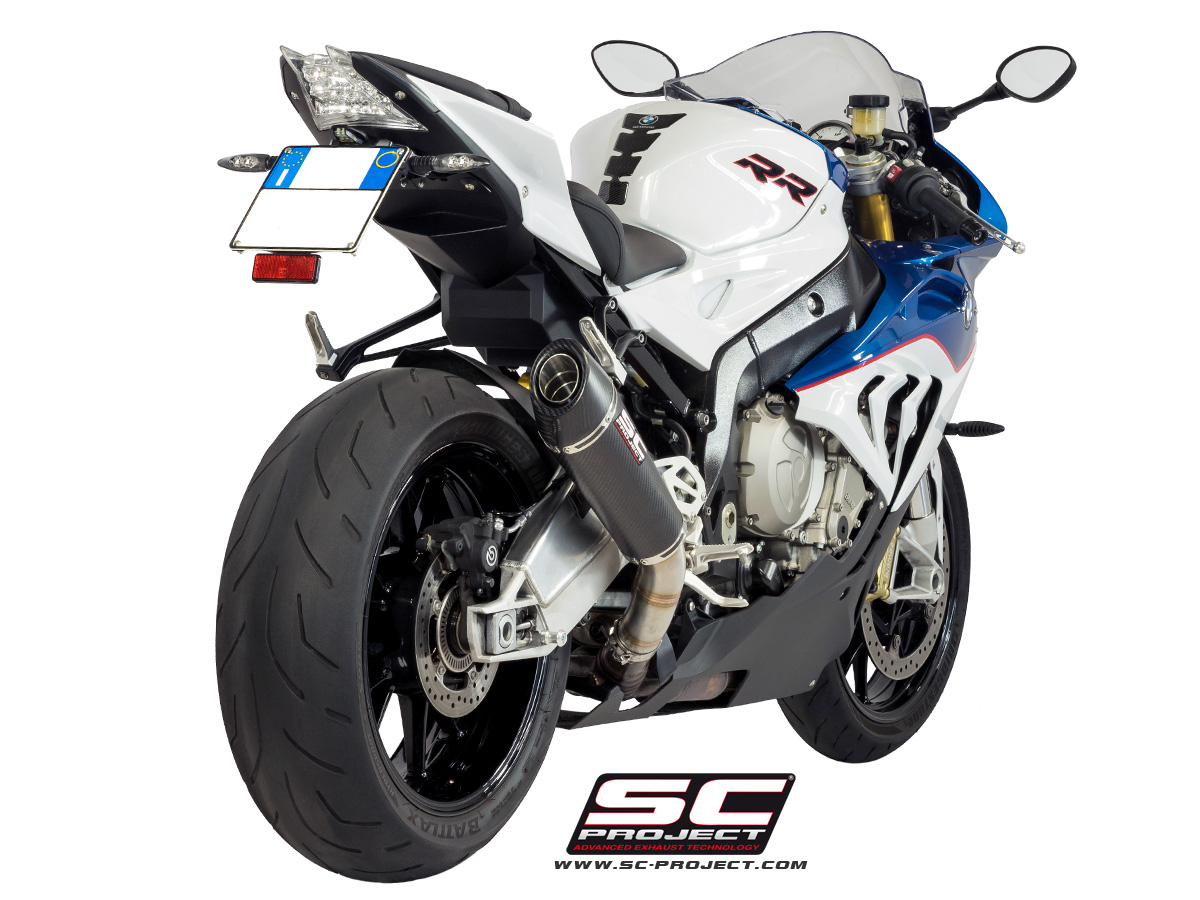sc project exhaust bmw s1000rr conic silencer 2015 2016. Black Bedroom Furniture Sets. Home Design Ideas