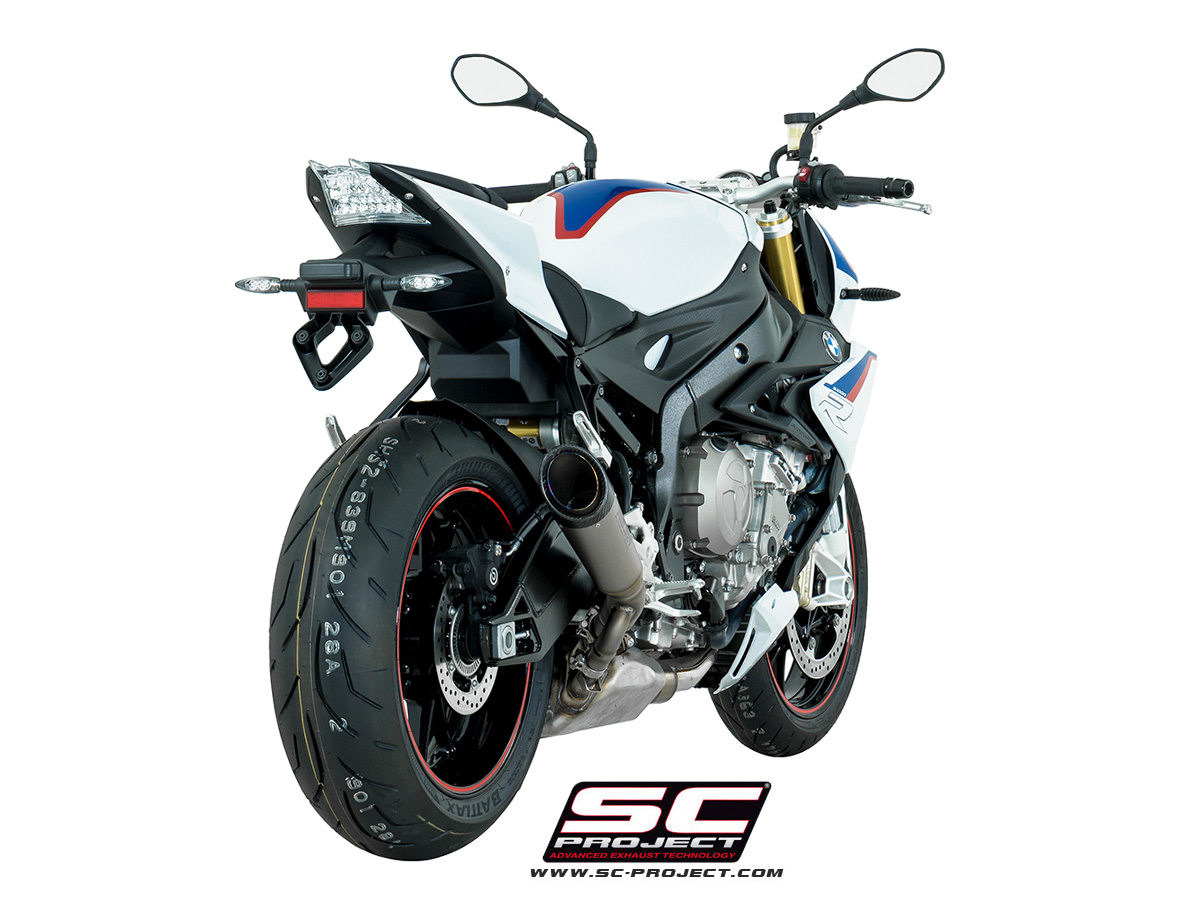 sc project exhaust bmw s1000r s1 silencer 2017 conquest. Black Bedroom Furniture Sets. Home Design Ideas