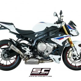 SC Project Exhaust BMW S1000R CR-T Muffler with Full Titanium Link Pipe 2017