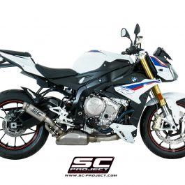 SC Project Exhaust BMW S1000R GP70-R Muffler with Full Titanium Link Pipe 2017