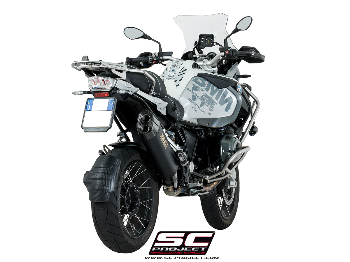 Sc Project Exhaust Bmw R1200gs Adventure Silencer Matt