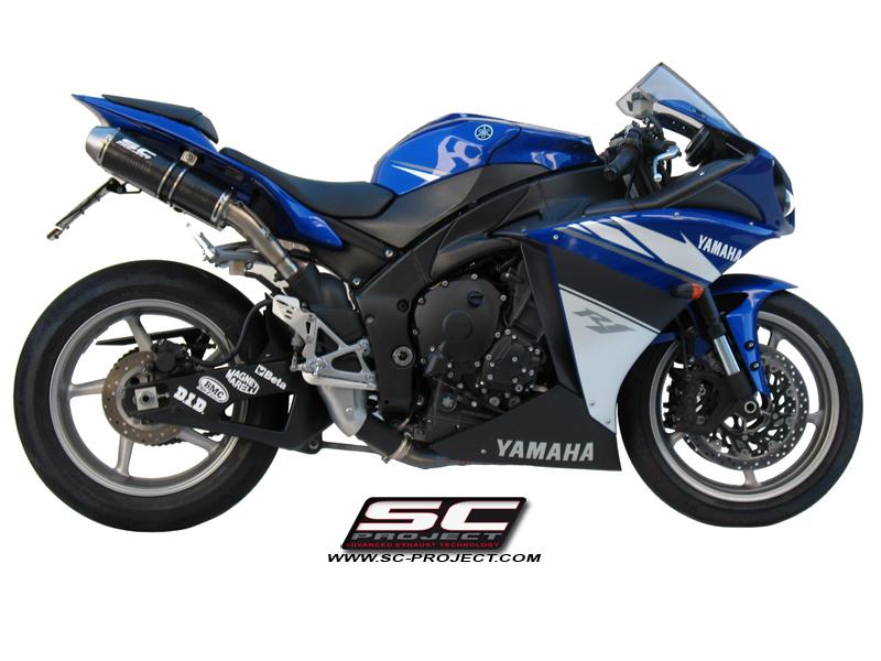 SC Project Exhaust YamahaYZF R1 GP-EVO Line Silencer 2009-2014