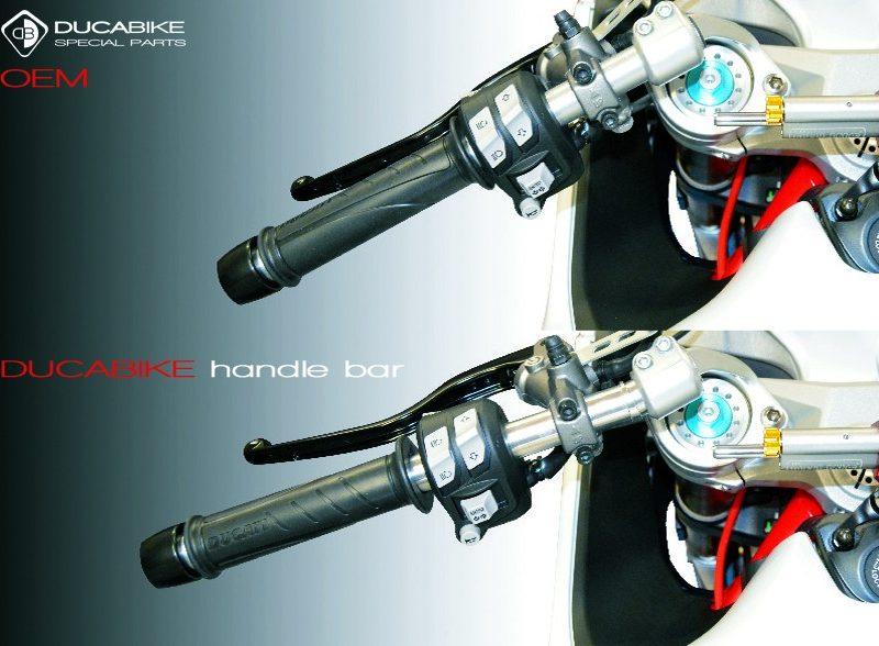 Ducabike Ducati Supersport 939 Adjustable Handlebar Tubes TM03