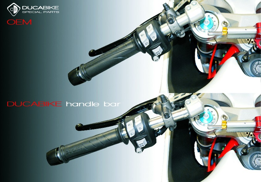 Ducabike Ducati Supersport 939 Adjustable Handlebar Tubes TM03
