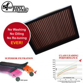 Sprint Filter Ducati P08 Air Filter PM10S