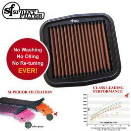 Sprint Filter Ducati P08 Air Filter PM127S