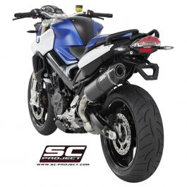 SC Project Exhaust BMW F800R Matt Carbon Oval Silencer 15-17