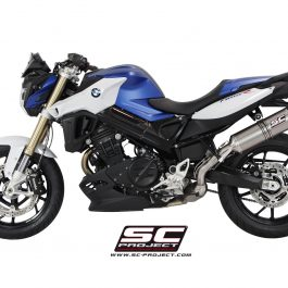 SC Project Exhaust BMW F800R Oval Silencer 15-17