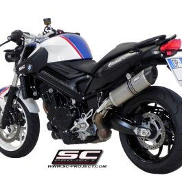 SC Project Exhaust BMW F800R Oval Silencer 09-14