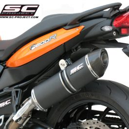 SC Project Exhaust BMW F800R Oval Silencer - Special Edition 09-14