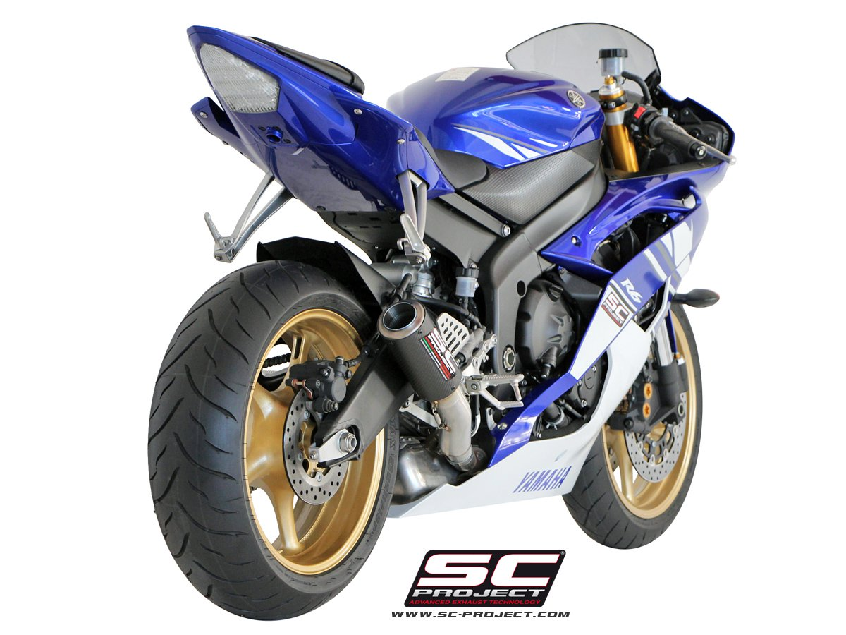 sc project exhaust yamaha yzf r6 cr t silencer 2006 2016. Black Bedroom Furniture Sets. Home Design Ideas