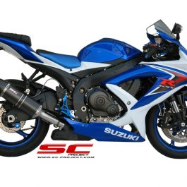 SC Project Exhaust SUZUKI GSX-R 600/750 Oval Silencer 2008 - 2010