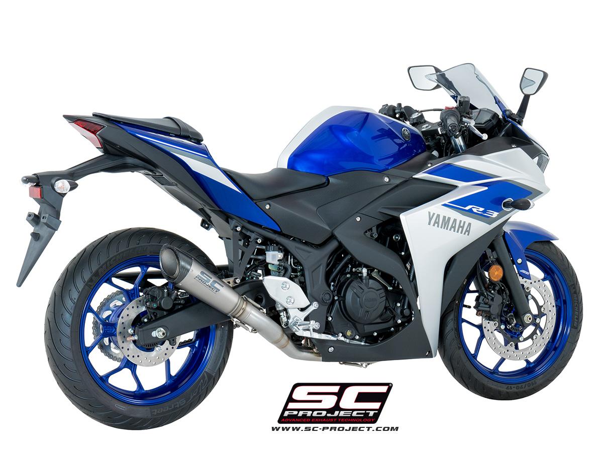Yamaha R Full Exhaust System