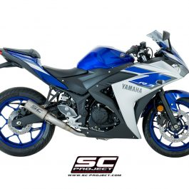 SC Project Exhaust YAMAHA YZF R3 Full System 2 - 1 CR-T Silencer