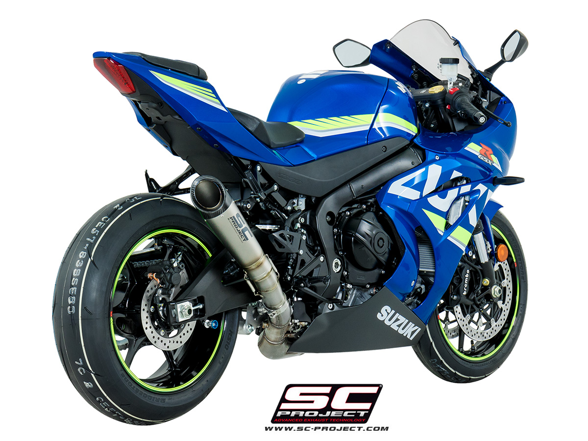 sc project exhaust suzuki gsx r 1000 s1 silencer 2017. Black Bedroom Furniture Sets. Home Design Ideas