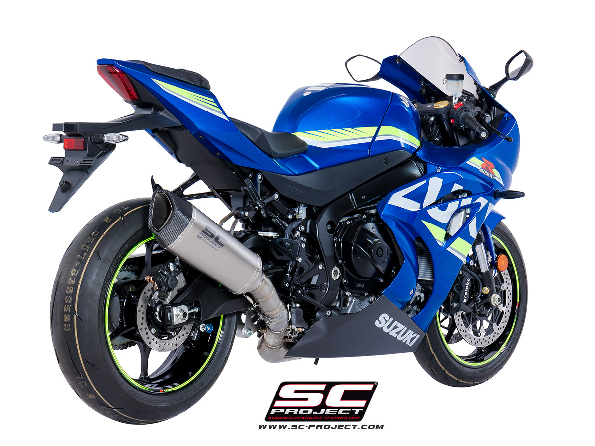 sc project exhaust suzuki gsx r 1000 sc1 r silencer 2017. Black Bedroom Furniture Sets. Home Design Ideas