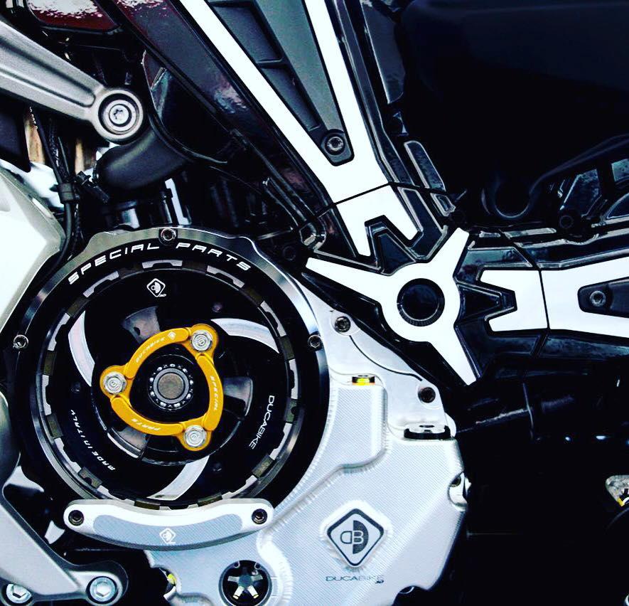 Ducati Clear Clutch Cover