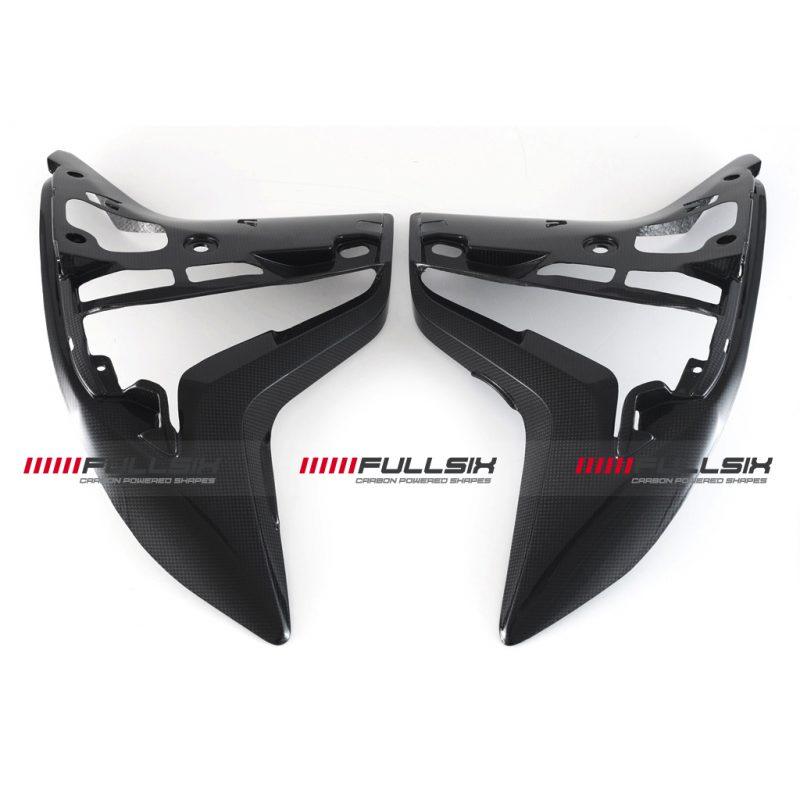 Fullsix Ducati Multistrada 950 1200 DVT Carbon Fibre Inner Fairing Panels