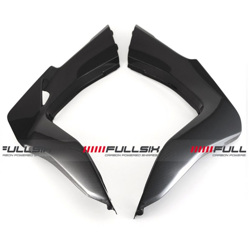 Fullsix Ducati Multistrada 950 1200 Carbon Fibre Underseat Side Panels