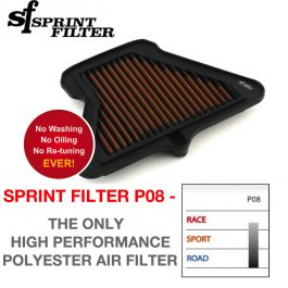 Sprint Filter Kawasaki ZX10R P08 Air Filter 2011-2015