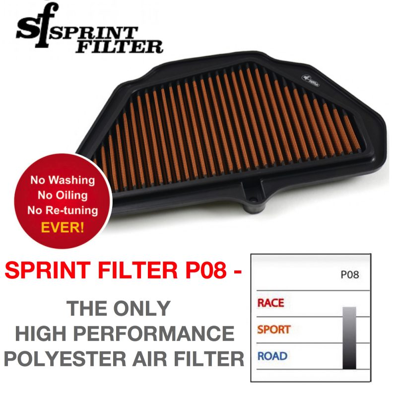 Sprint Filter Kawasaki ZX10R P08 Air Filter 2016+