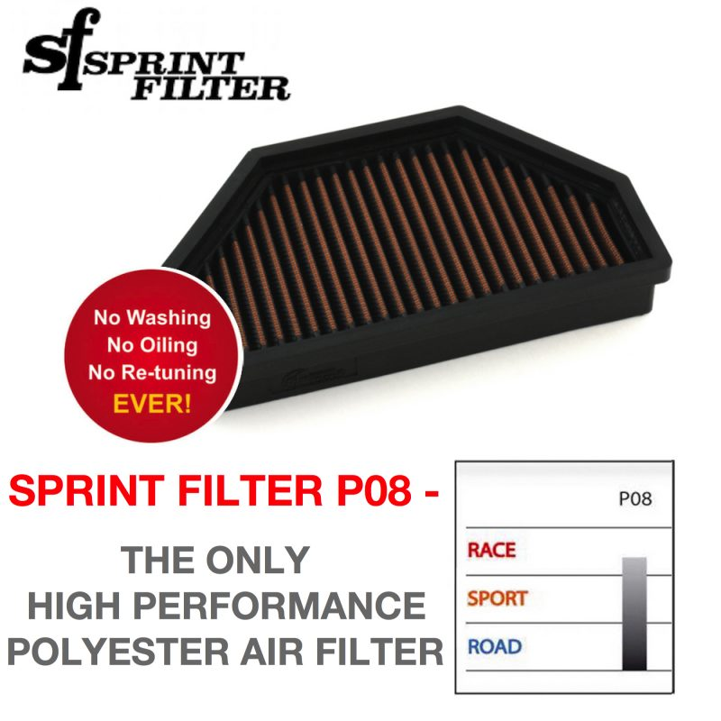 Sprint Filter KTM RC8 RC8R P08 Air Filter