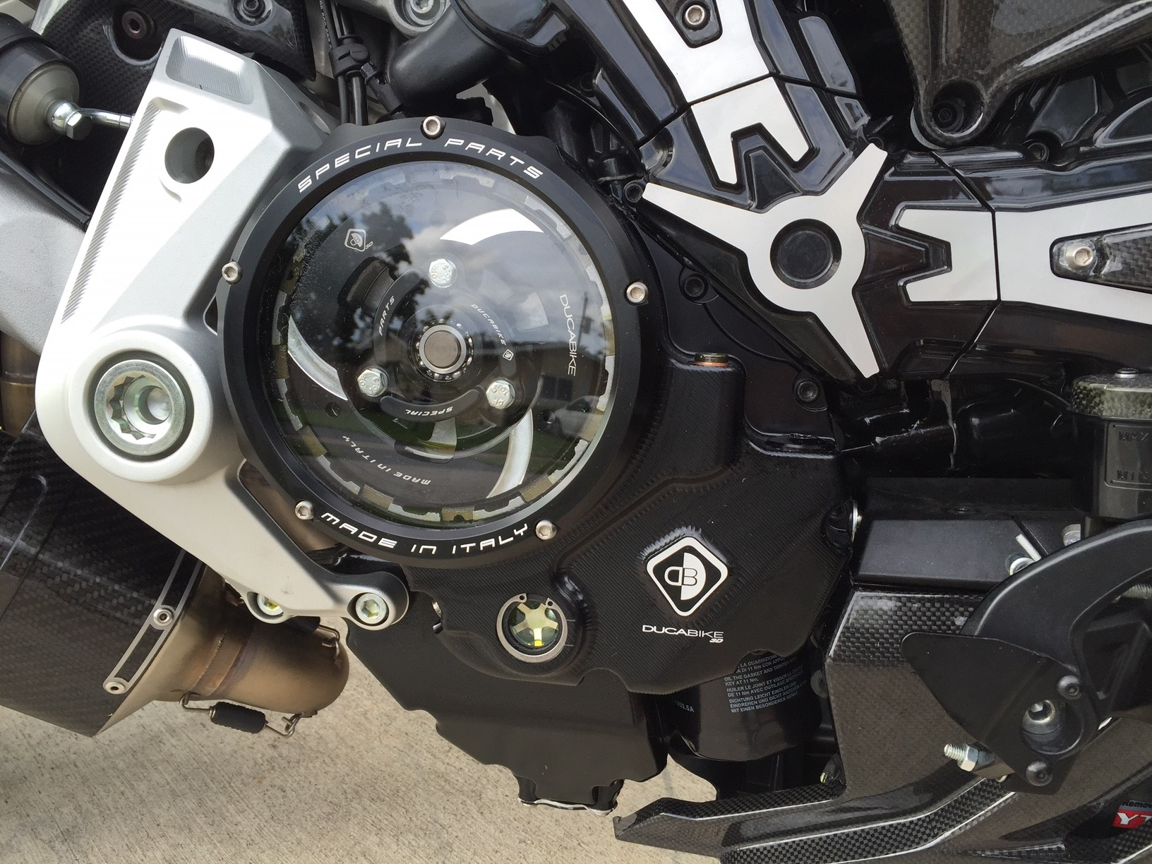 Ducabike Ducati Xdiavel Clear Clutch Cover Kit Conquest