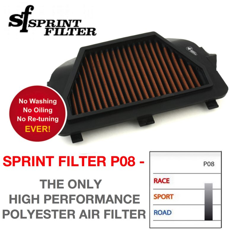 Sprint Filter Yamaha YZF R6 P08 Air Filter 2008+