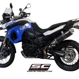 SC Project Exhaust BMW F800GS Oval R60 Silencer 08-15