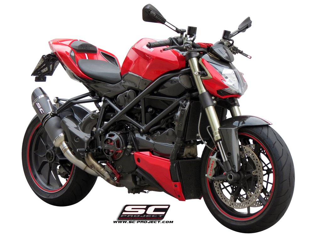 sc project exhaust ducati streetfighter 848 1100 oval silencer. Black Bedroom Furniture Sets. Home Design Ideas