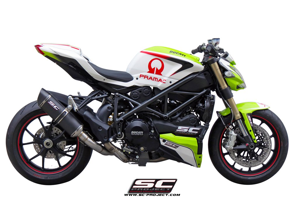 Ducati Exhaust Pipe Silencer