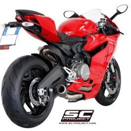SC Project Exhaust Ducati Panigale 899 Collector Pipe CR-T Silencer