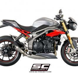 SC Project Exhaust Triumph Speed Triple 1050 S1 Silencer 2016+