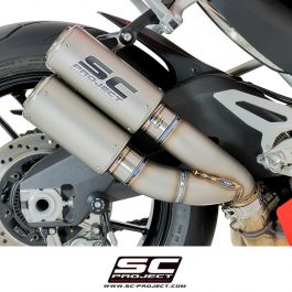 SC Project Exhaust Ducati Panigale 959 CR-T Twin Silencers