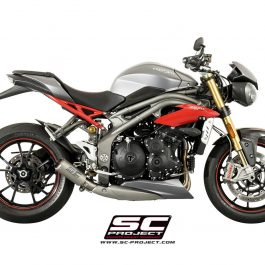 SC Project Exhaust Triumph Speed Triple 1050 CR-T Silencer 2016+