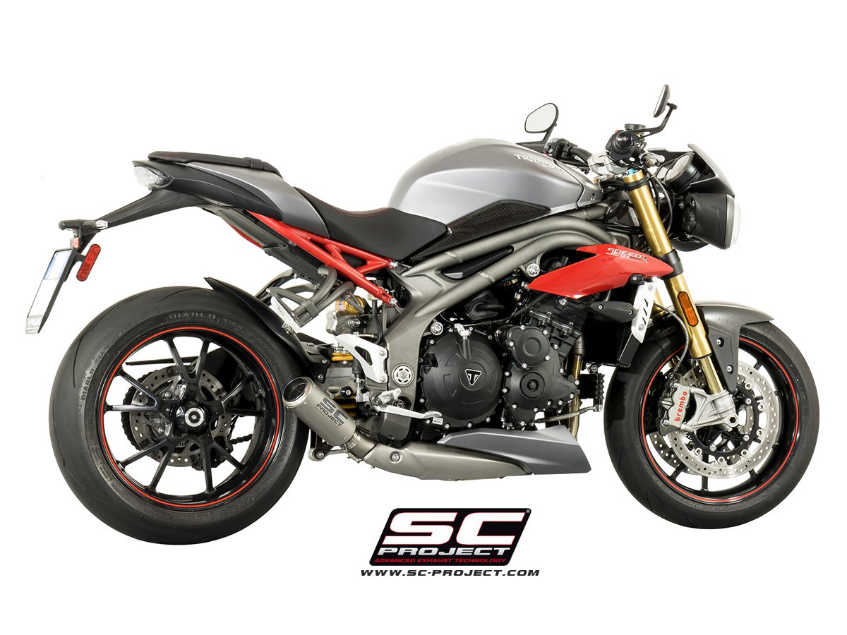sc project exhaust triumph speed triple 1050 cr t silencer. Black Bedroom Furniture Sets. Home Design Ideas
