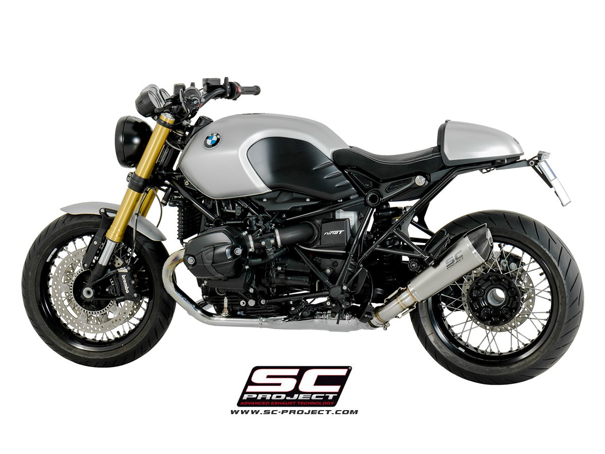 sc project exhaust bmw r nine t conic silencer. Black Bedroom Furniture Sets. Home Design Ideas