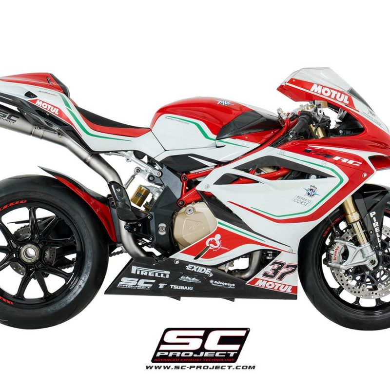 SC Project Exhaust MV Agusta F4 S1 Silencer