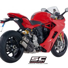 SC Project Exhaust Ducati SUPERSPORT CR-T Twin Silencers