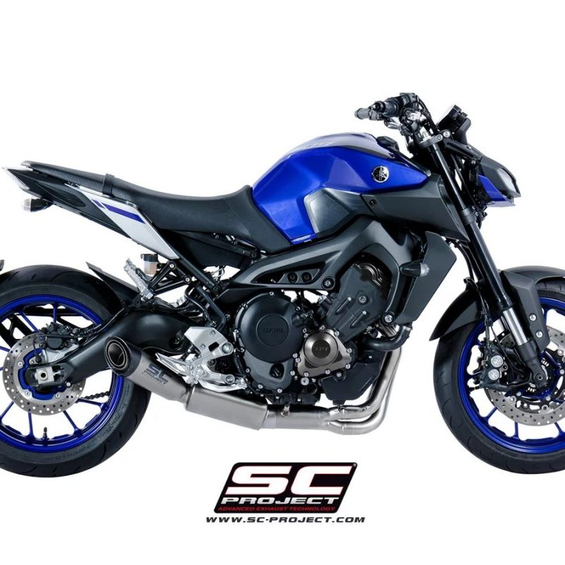 SC Project Exhaust YAMAHA MT-09 Full system 3-1 S1 silencer 2017+
