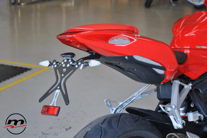 Melotti Racing MV Agusta F3 Number Plate Holder Tail Tidy