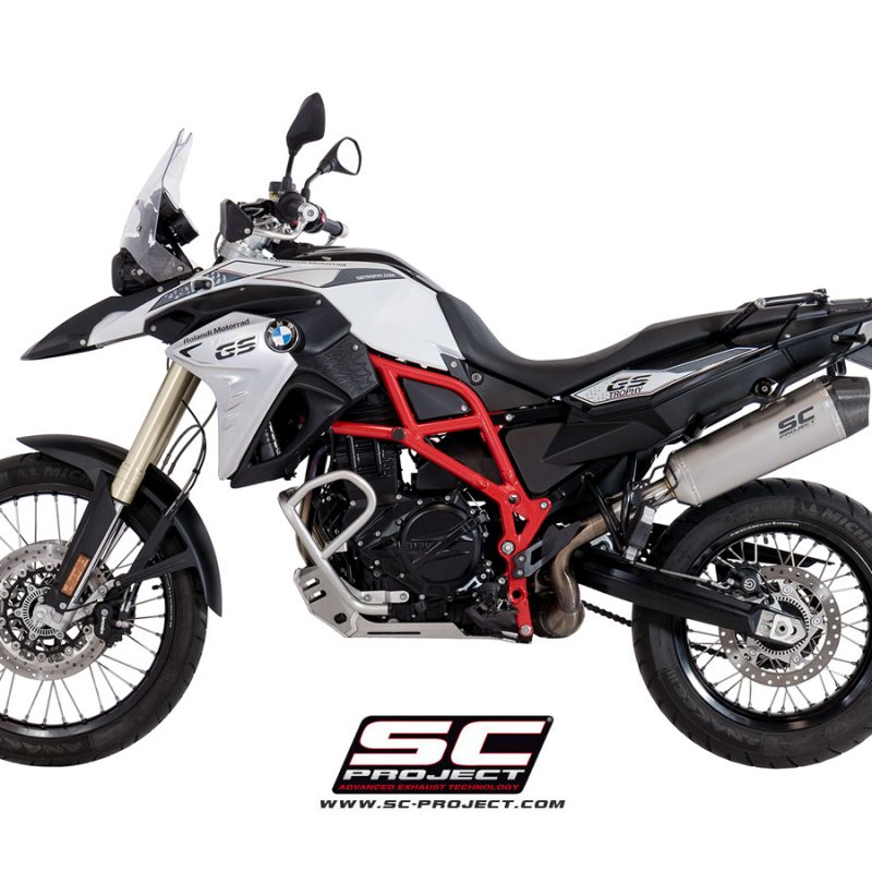 SC Project Exhaust BMW F700GS X-Plorer Silencer 2016-18