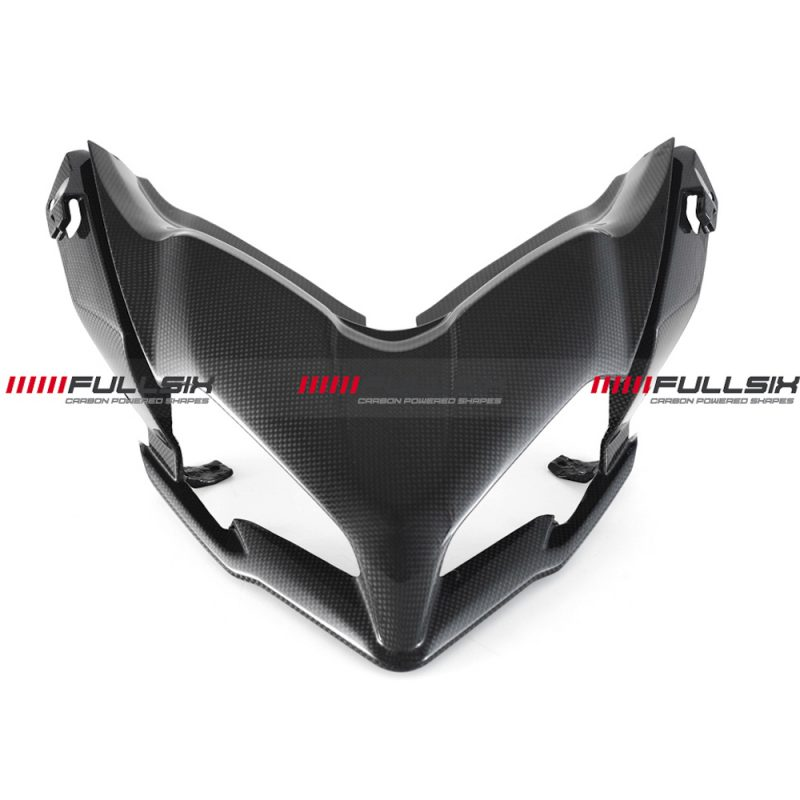 Fullsix Ducati Multistrada 950 1200 DVT Enduro Carbon Fibre Nose Beak Fairing