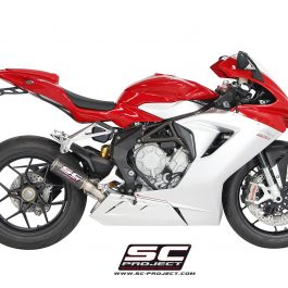 SC Project Exhaust MV Agusta F3 CR-T Silencer - High Position