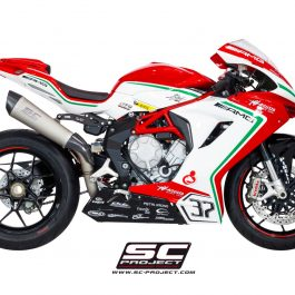 SC Project Exhaust MV Agusta F3 Conic Silencer High Position