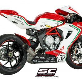 SC Project Exhaust MV Agusta F3 S1 Silencer