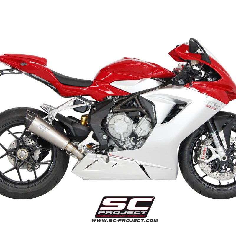 SC Project Exhaust MV Agusta F3 Conic Silencer