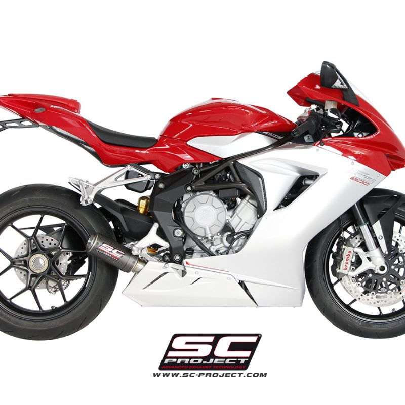 SC Project Exhaust MV Agusta F3 CR-T Silencer -Low Position
