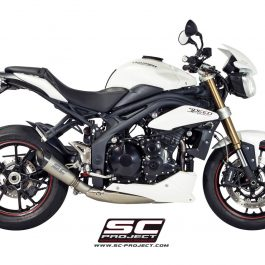 SC Project Exhaust Triumph Speed Triple S1 Silencer 2011 - 2015