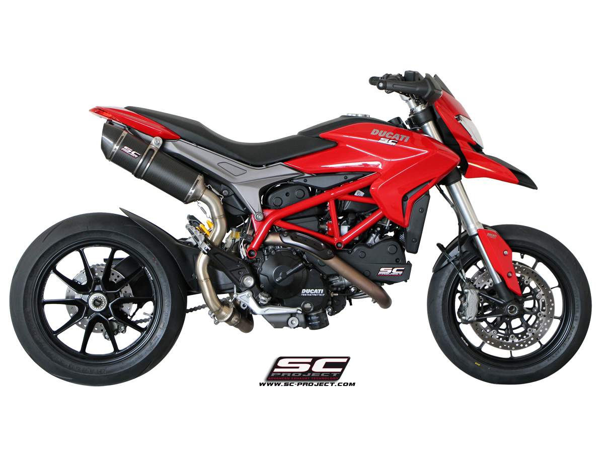 sc project exhaust ducati hypermotard 821 oval silencer high position. Black Bedroom Furniture Sets. Home Design Ideas